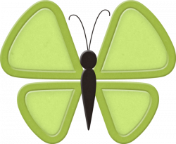 Ettes_Butterfly_Lime.png | Butterfly and Clip art