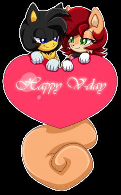 Valentine for LukeVei-Da-Hedgehog by Extra-Fenix on DeviantArt