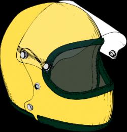 Crash Helmet Clip Art at Clker.com - vector clip art online, royalty ...