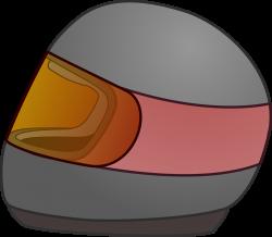 Clipart - Simple Bike Racing Helmet Icon