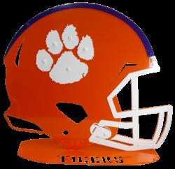 Clemson Helmets & Footballs – clemsonframeshop