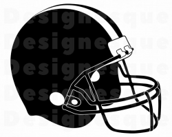 Football Helmet #2 SVG, Football Helmet Clipart, Football Helmet Files for  Cricut, Football Helmet Cut Files For Silhouette, Dxf, Png, Eps