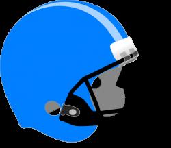 Blue/light Blue Helmet Clip Art at Clker.com - vector clip art ...