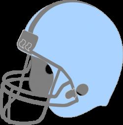 Blue Football Helmet Facing Left Clip Art at Clker.com - vector clip ...