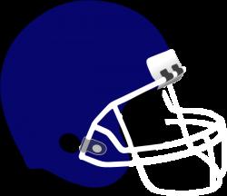 Navy Football Helmet Clip Art at Clker.com - vector clip art online ...
