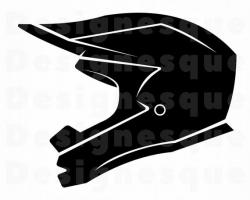 Motorcycle Helmet SVG, Motorcycle Helmet Clipart, Motorcycle Helmet Files  for Cricut, Motorcycle Helmet Cut Files For Silhouette Dxf Png Eps