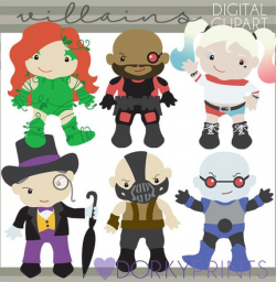 Villain Clipart -Personal and Limited Commercial Use- Super ...