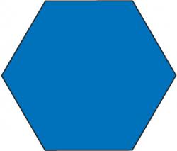Hexagon Shape Clipart