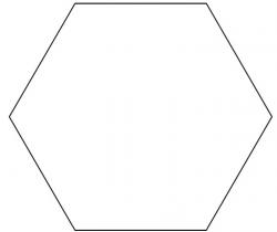 hexagon clipart 5 | Clipart Station