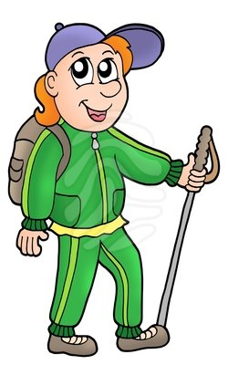 Nature Hike Clipart