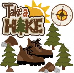 Take A Hike SVG Scrapbook Collection outdoors svg files camping svg ...