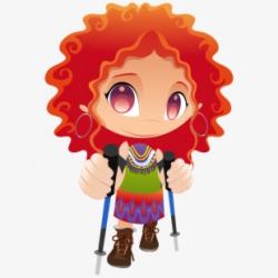 Hiking Clipart Bushwalk - Cartoon Characters, Cliparts ...