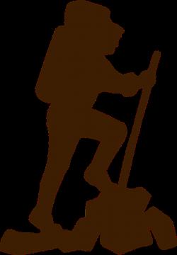 Climber Hiker Brown Walking transparent image | Climber | Pinterest ...
