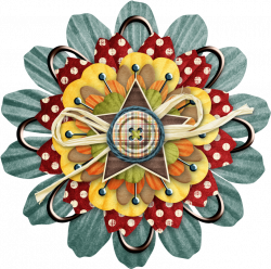 jss_happycamper_layered flower 17.png | Happy campers and Clip art