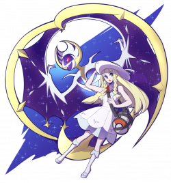 Ship Pager-Pokemon Sun and Moon-One Shots - Lillie X Hau :