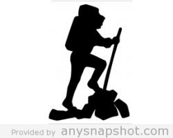 scrapbk Hiker Silhouette Clip Art | Eagle Court of Honor ...