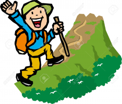 Fresh Hiking Clipart Collection - Digital Clipart Collection