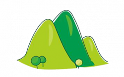 Hill Clipart Cartoon Cute Little Hills Transparent Png - AZPng