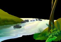 Jungle Cartoon Clip art - Vector river 4297*2959 transprent Png Free ...