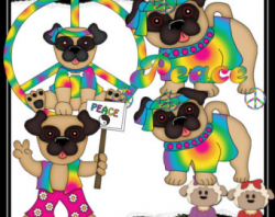 Free Hippie Dog Cliparts, Download Free Clip Art, Free Clip ...