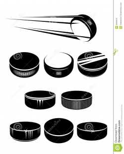 Fast Hockey Puck Clipart