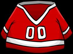 Red Hockey Jersey | Club Penguin Wiki | FANDOM powered by Wikia