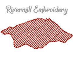 Mini Sketch Wild Pig Boar Hog Machine Embroidery Design