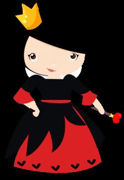 Rainha de Copas - Alice no país das maravilhas! | clipart ...