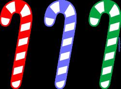 Christmas Candy Cane Set Clip Art - Sweet Clip Art
