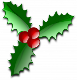 Free Christmas Clip Art Holly   Clipart Panda - Free Clipart Images
