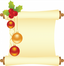 Free Christmas Scroll Cliparts, Download Free Clip Art, Free Clip ...