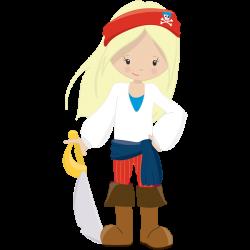 Pirate Girl Birthday Invitations CHOOSE YOUR PIRATE