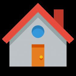 House Icon   Small & Flat Iconset   paomedia