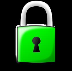 Pad Lock Green 2 Clip Art at Clker.com - vector clip art online ...