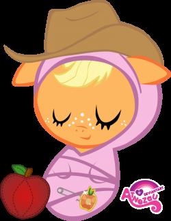 208786 - apple, applejack, artist:atnezau, baby, baby blanket ...