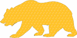 Honeycomb Bear With Stroke Icons PNG - Free PNG and Icons Downloads