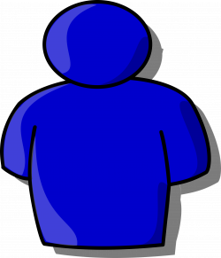 Clipart - Abstract person