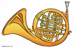 French Horn Free Clipart