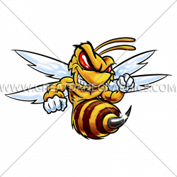 Fighting Hornet | Production Ready Artwork for T-Shirt Printing