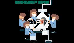 81+ Emergency Room Icon - Clinic Emergency Hospital Room Icon ...