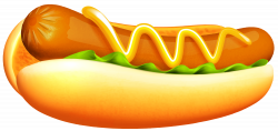 Hot Dog Transparent PNG Clipart Image | Gallery Yopriceville - High ...