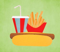 Free Hot Dog With Fries, Download Free Clip Art, Free Clip ...