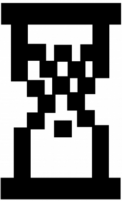 Clipart - Digital Hourglass