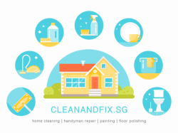 House Professional Cleaning, Floor Polishing, Painting, Handyman Service
