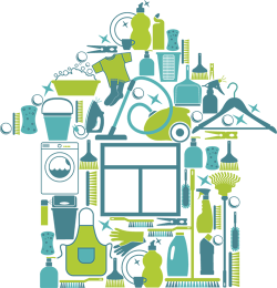19 Cleaning house vector royalty free download HUGE FREEBIE ...