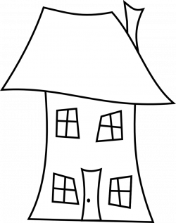 Line Drawing House ClipArt Best, cartoon house drawing design ...