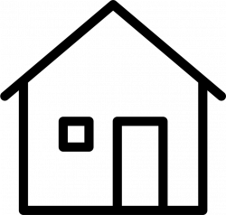 Thin House Home Building Svg Png Icon Free Download (#77548 ...
