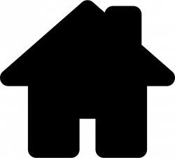 House Black Shape For Home Interface Symbol Svg Png Icon Free ...