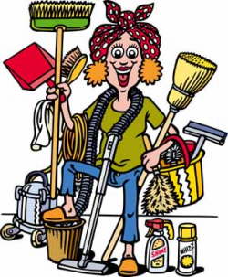 Housekeeping cleaning graphics clipart guide cleaning clip ...