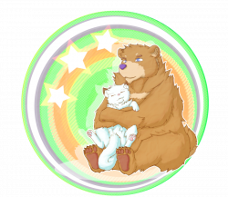 Collaboration: Bear Hugs by RalphTheFeline on DeviantArt